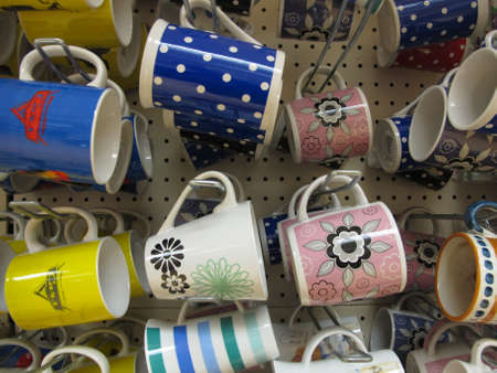 drank: Rows and rows of Cups. Editorial