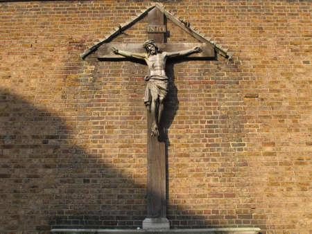 Jesus Christ on the Cross. photo