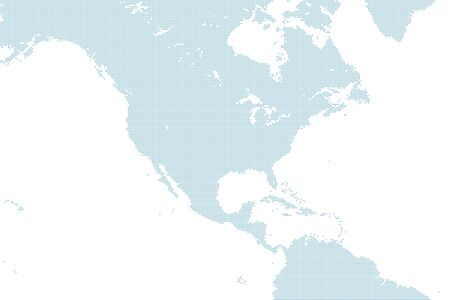 dotted North America map Stock fotó - 147496475