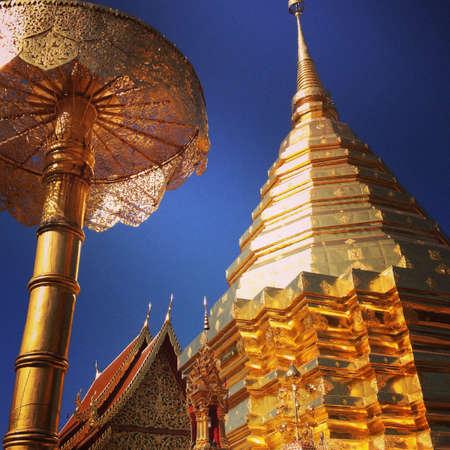 doi: Doi suthep, chiang mai, thailand Stock Photo