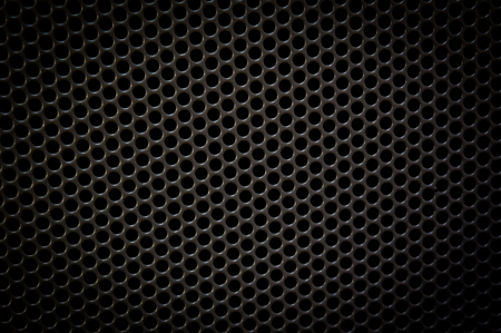 black dots: abstract black dots pattern background,dark style Stock Photo