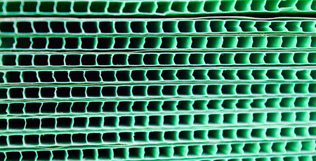 sensitive: Green woven metallic grunge grid striped abstract background,sensitive focus