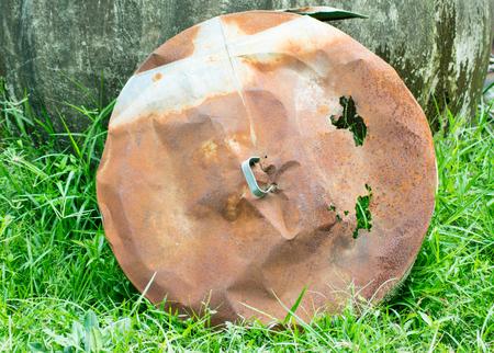 rust texture: old metal zinc rust texture Stock Photo