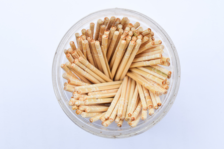 toothpick: Toothpick on white background
