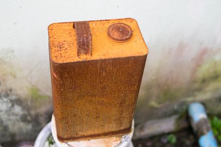 rusty: rusty can