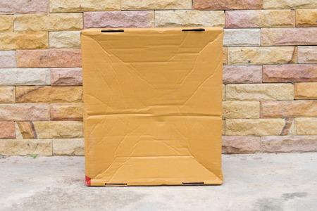 cardboard box texture Stok Fotoğraf