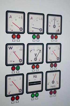 industrial electric power meters
