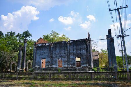 dilapidated: Dilapidated Temple