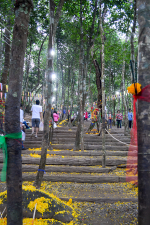 khao: Khao Khitchakut National Park Thailand Editorial