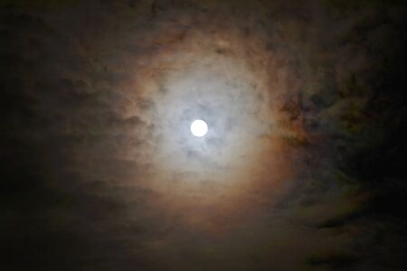 twelfth night: DarkMoon Stock Photo