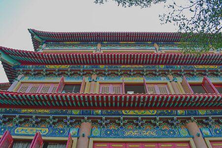 lengnoeiyi: Lengnoeiyi Temple Stock Photo