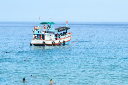 trat: Diving Boat at Kao Tao