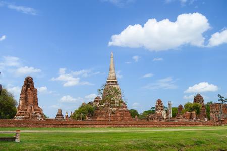 Ayutthaya Ancient Town of Thailand Stock Photo