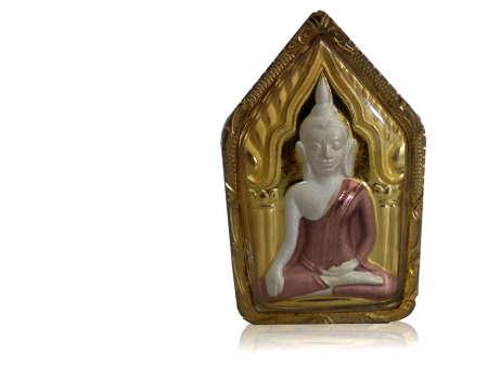 amulet: small Buddha