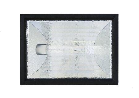 halogen lighting: Spotlights on a white background.