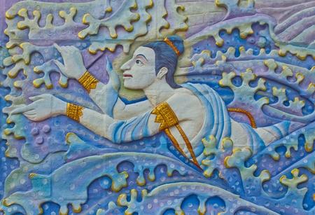 Thai s Art on the walls