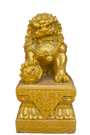 Chainese Lion Statue