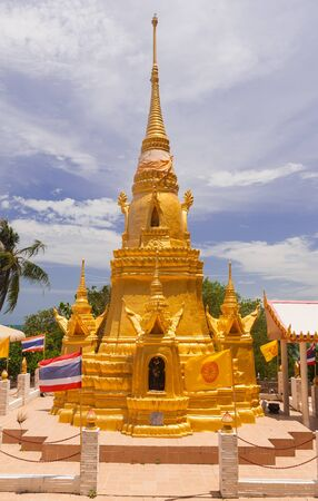 Pagoda on Samui island