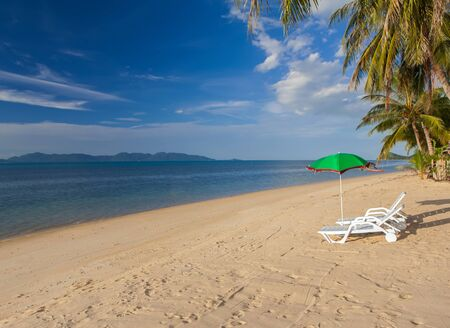 Landscape of Samui island Stock Photo