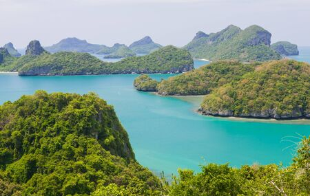 Landscape of Samui island in thailand
