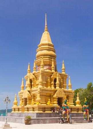 Pagoda on Samui island