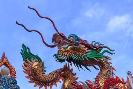 Dragon in bluesky