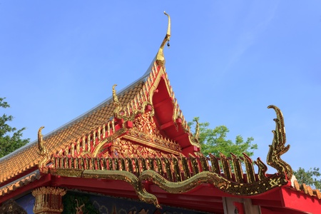 roof of temple