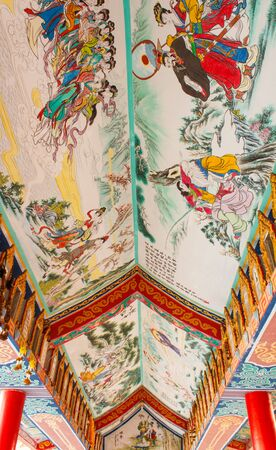 architecture in thai temple