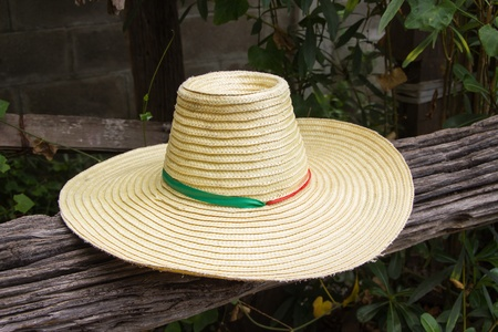 hat of farmer