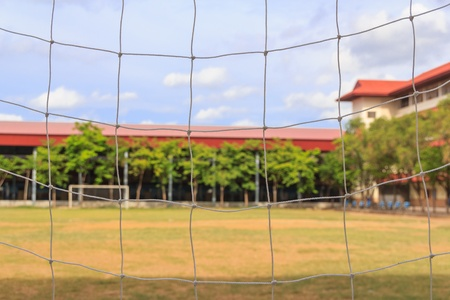 Football field in school