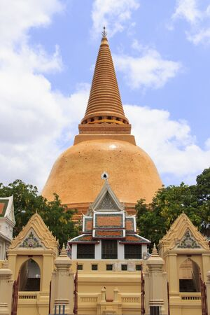 Pagoda in Thailand Stock Photo