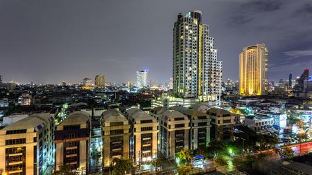 BANGKOK THAILAND-August 1 Brid view eye form Luxuary condominium in Bangkok Thailand on august1,2015. Publikacyjne
