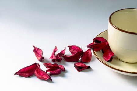 bolsita: Flor sachet una taza