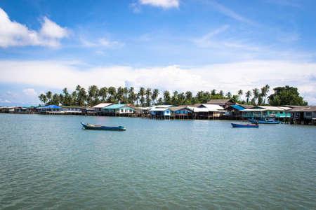fishing village: Seascape and fishing village