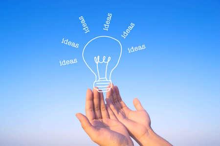 inspiration: idea and inspiration concept