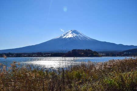 unesco: Fuji mountain in Japan