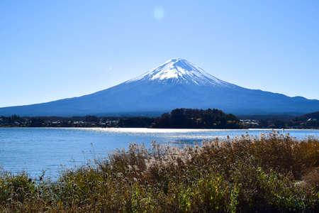 Fuji mountain in Japan