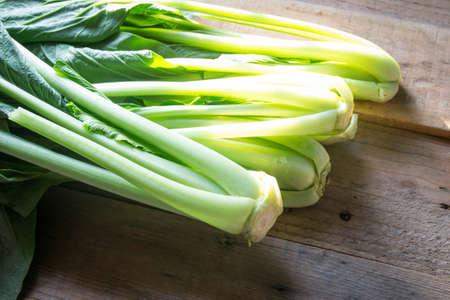 english cucumber: organic choy vegetable