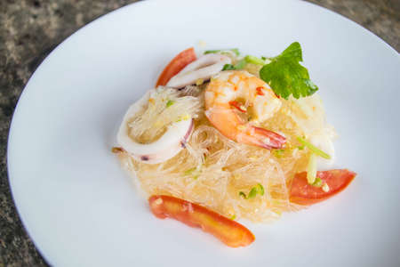 vermicelli: vermicelli mixed seafood