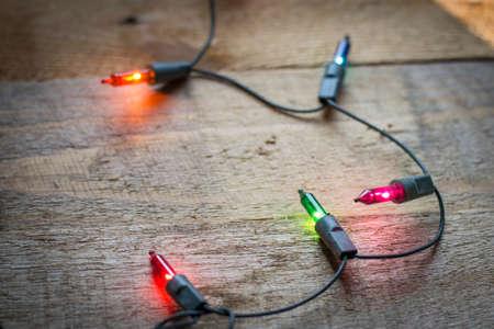 Christmas lights Stock Photo - 47100834
