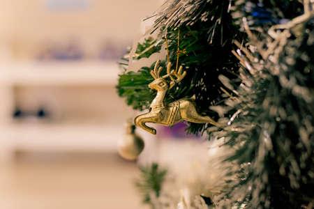 tree decorations: Christmas tree decorations Stock Photo