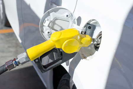 unleaded: Fuel your car Stock Photo