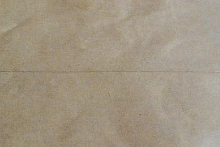 sheet: Sheet of brown paper Stock Photo