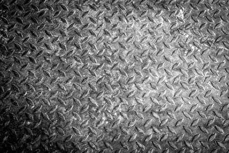 salvage yards: grunge diamond metal background