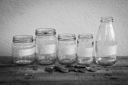 money concept: Money Saving concept Stock Photo