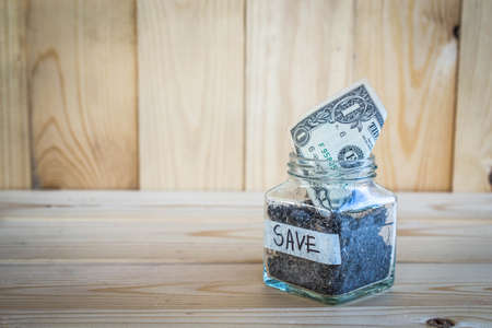 value add: Money Saving concept and the growth of savings