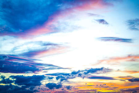 Morning sky ,abstract backgrounds blur Stock Photo