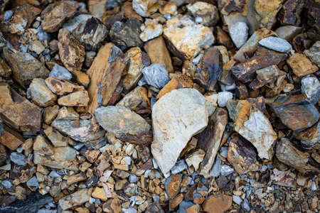 crushed stone background