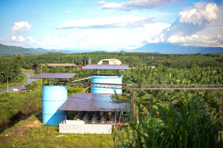 Palm oil refinery industry