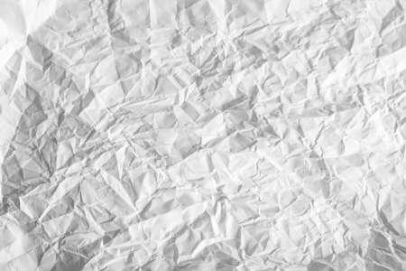Textura de papel arrugado viejo gris y blanco